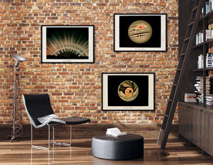 Astronomy Trouvelot Set of 3 Posters