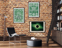 Green Vibes Set of 3 Prints