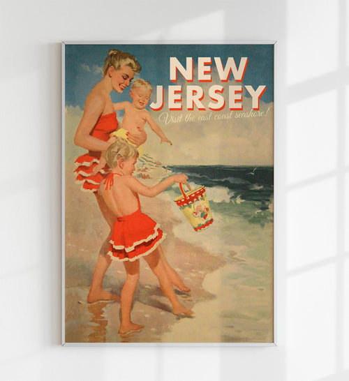 New Jersey Travel Poster