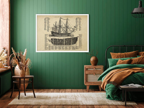 Ship of Fools Vintage Maritime Poster