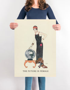The Future is Female & Fortune teller Poster