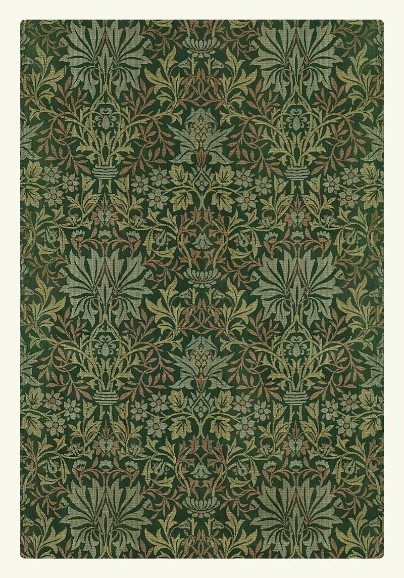 William Morris Flower Garden II Poster