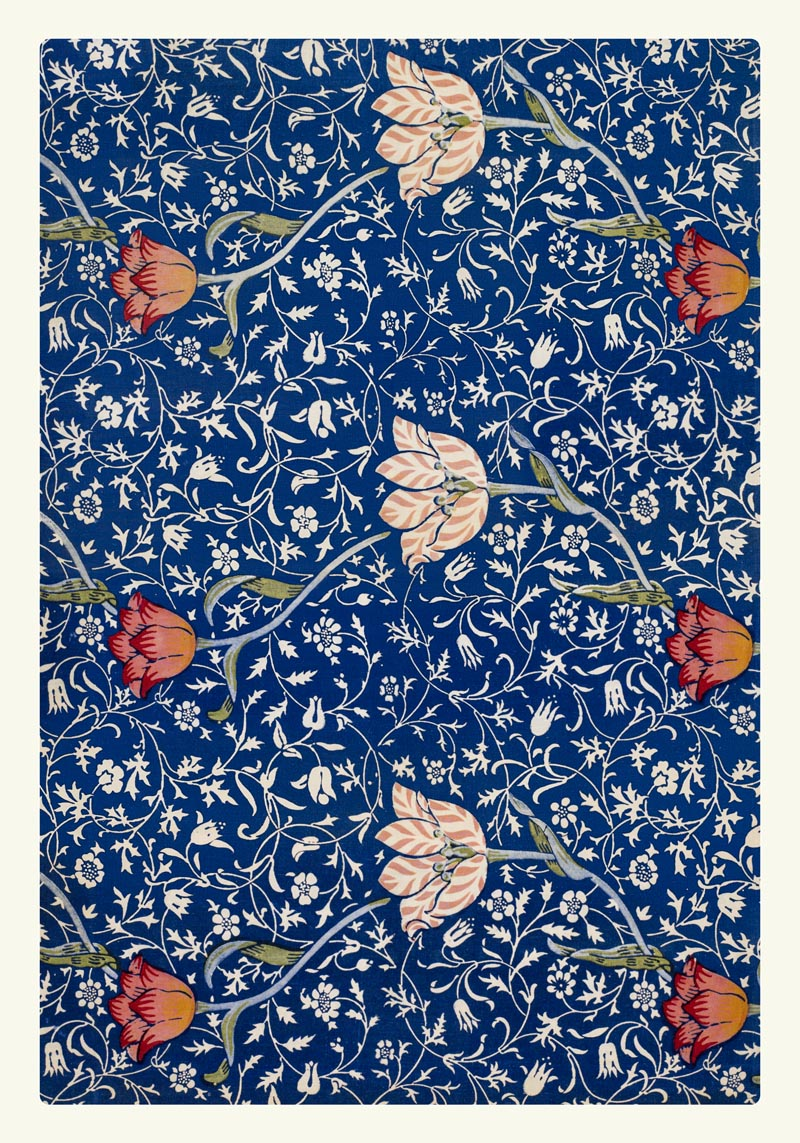 William Morris Medway Pattern Poster