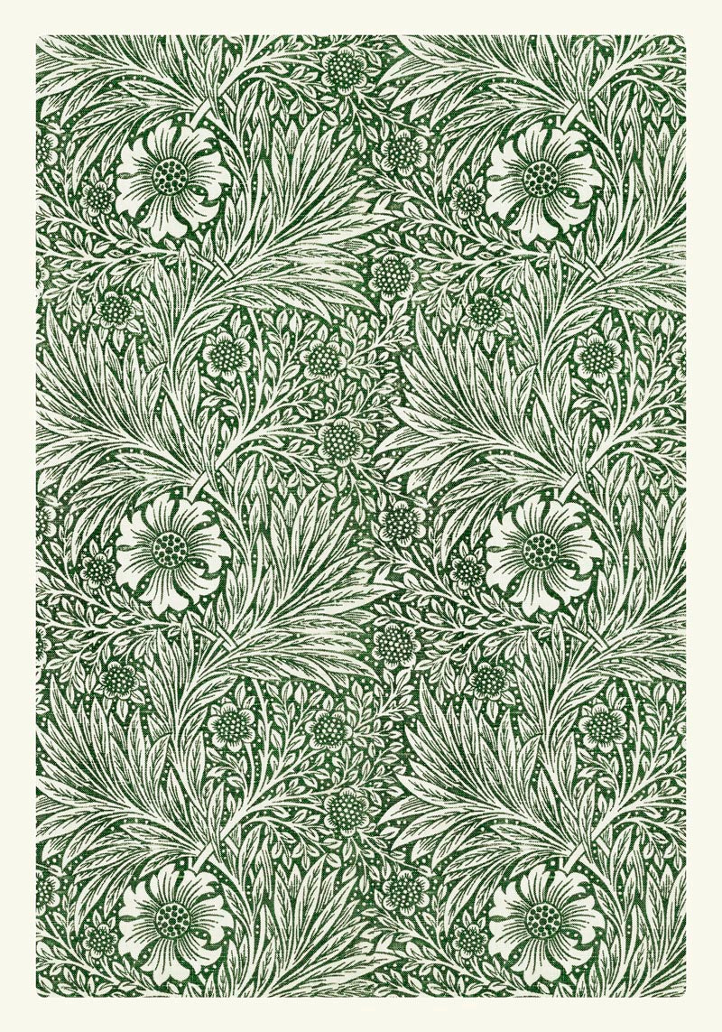 William Morris Marigold Pattern Poster