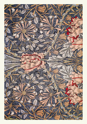 William Morris Honeysuckle Pattern I Poster