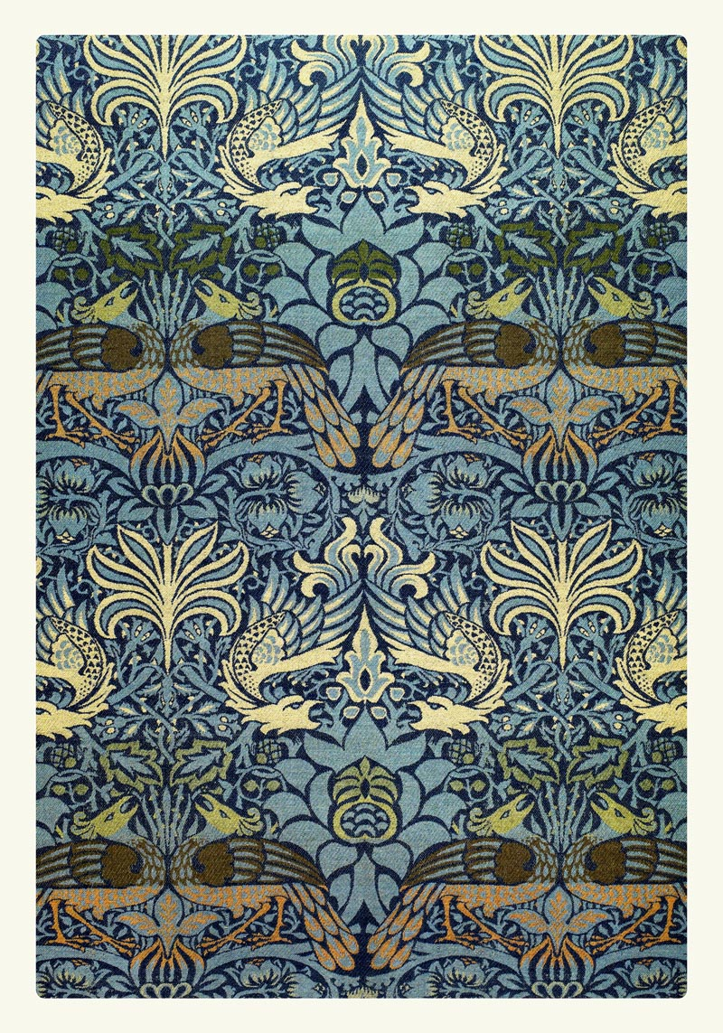 William Morris Peacock and Dragon I Poster