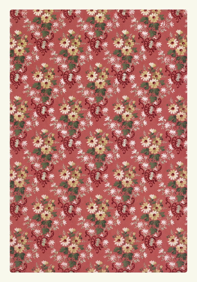 William Morris Floral Pattern I Poster