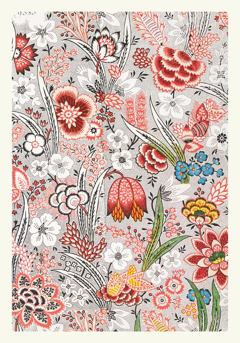 William Morris Allover Floral Poster
