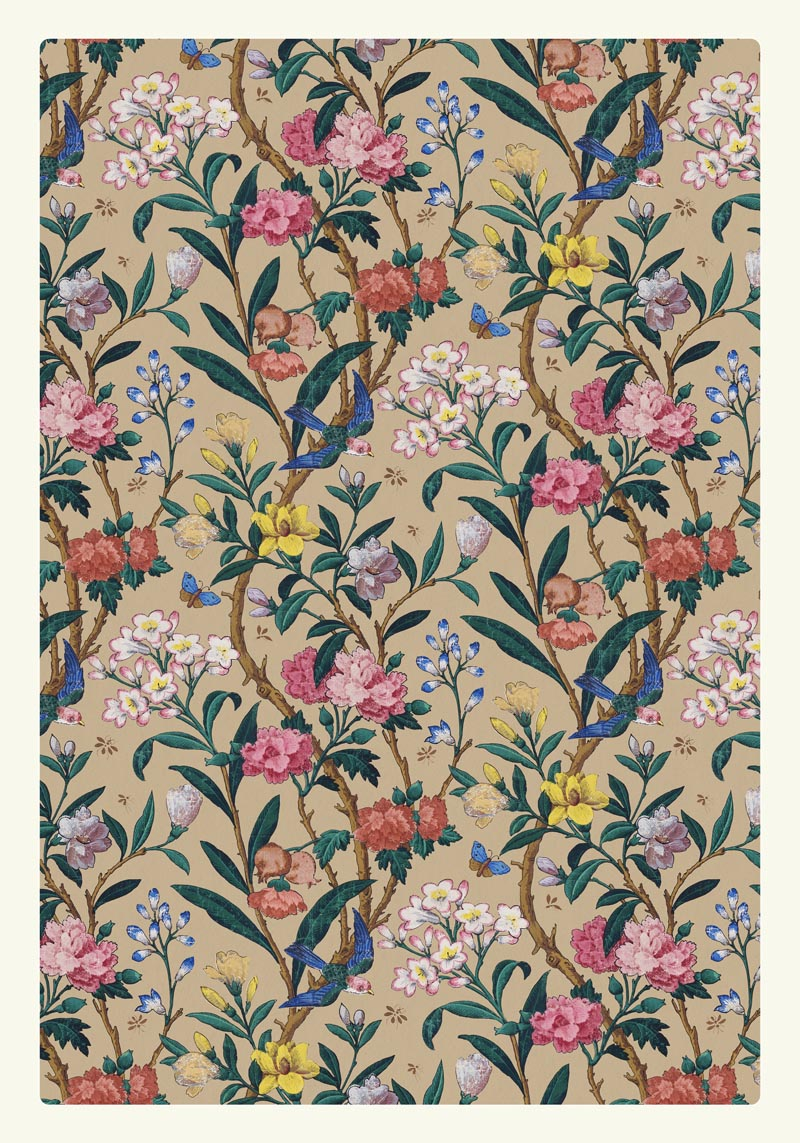 William Morris Birds Butterflies and Bees Poster