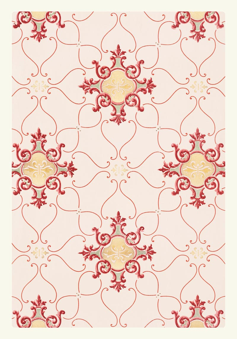 William Morris Vintage Wallpaper Poster