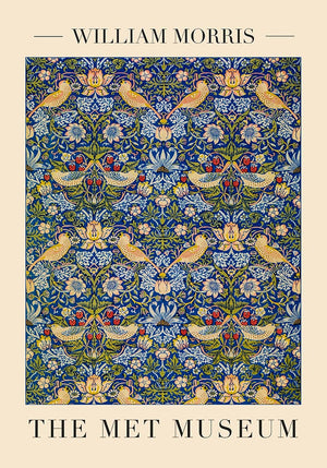 Strawberry Thief Poster by William Morris