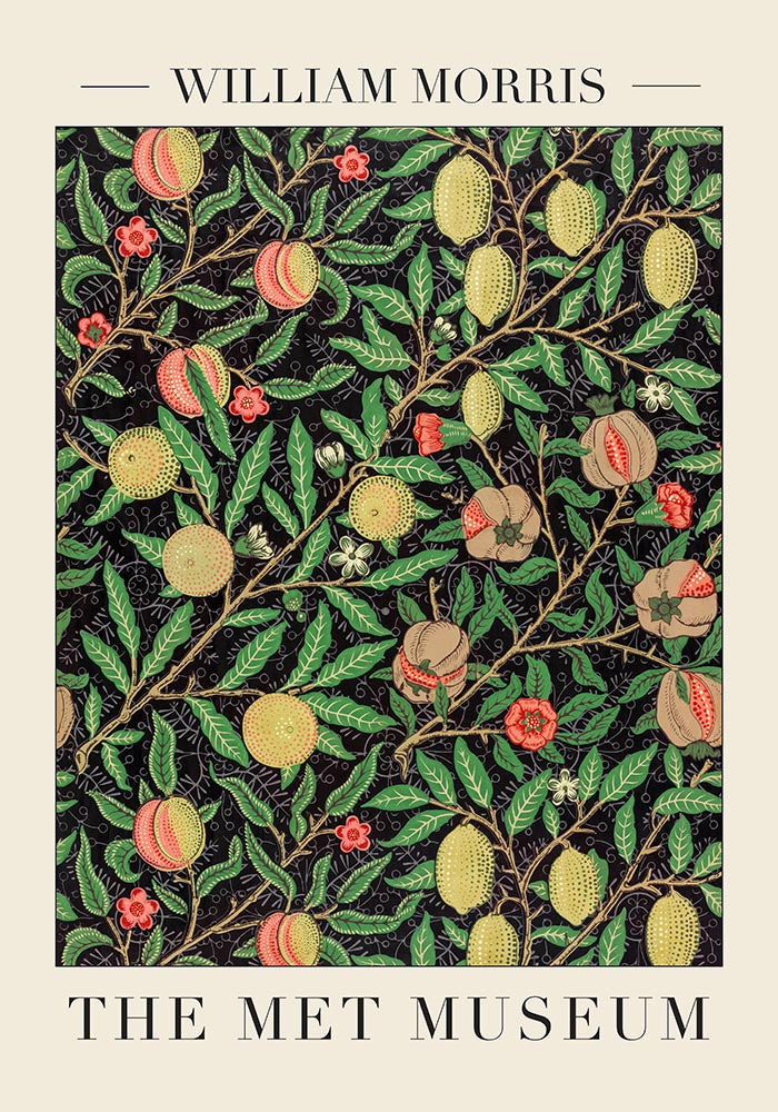Fruit Pattern by William Morris Poster