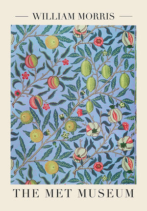 Pomegranate by William Morris Poster