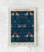 """Birds"" by William Morris Vintage Art Exhibition Poster by KURIOSIS"