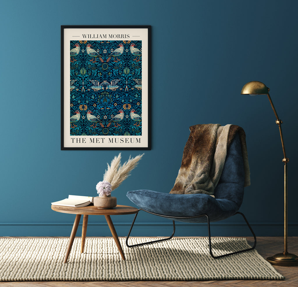 Birds by William Morris Poster