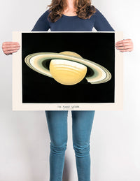 Saturn Planet - Kuriosis Vintage Prints