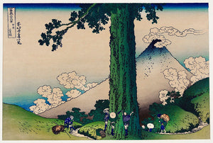 Daily Life in Kai Province by Hokusai