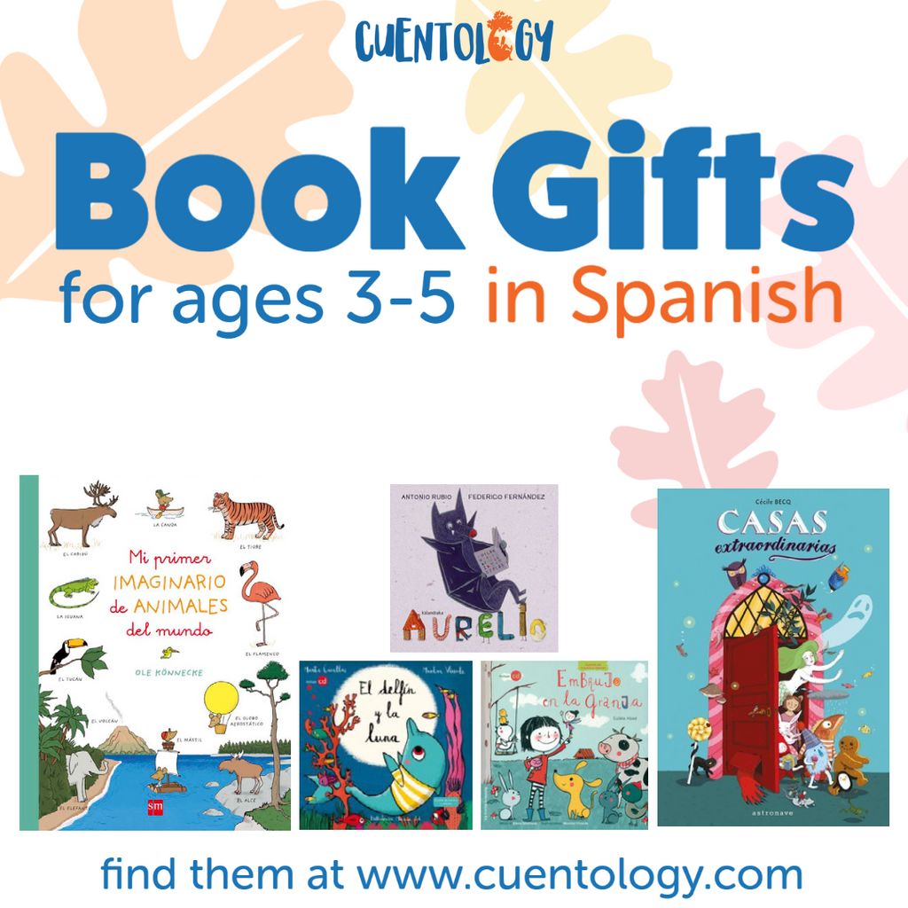 Holiday Book Gifts for ages 3-5