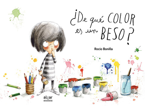 Books in Spanish for kids - ¿De qué color es un beso?