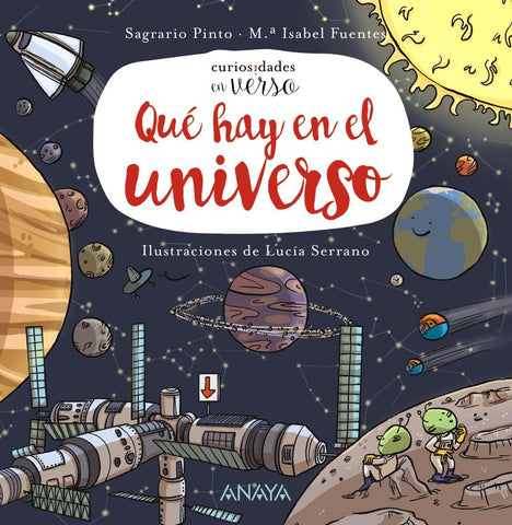 Books in Spanish for kids - ¿Qué hay en el universo?