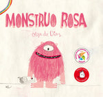 Picture books in Spanish for kids - Monstruo Rosa