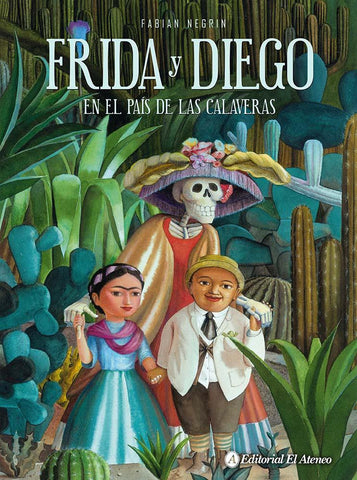 Books in Spanish for kids - Frida y Diego en el país de las calaveras