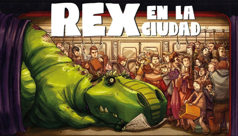 Books in Spanish for kids - Rex en la ciudad
