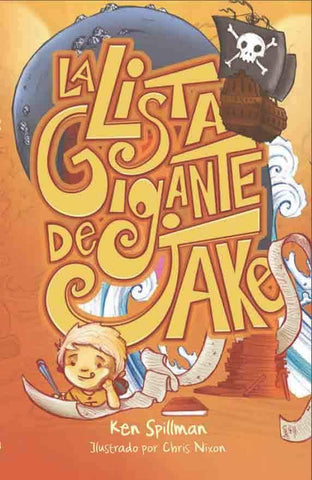 Early readers in Spanish for kids -La Lista gigante de Jake