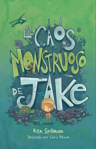 Early readers in Spanish for kids -El Caos monstruoso de Jake