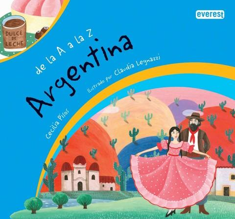 Books in Spanish for kids - De la A a la Z Argentina