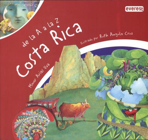 Books in Spanish for kids - De la A a la Z Costa Rica
