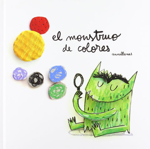 Books in Spanish for kids - El monstruo de colores