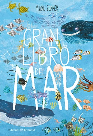 Nature books in Spanish for kids - El gran libro del mar