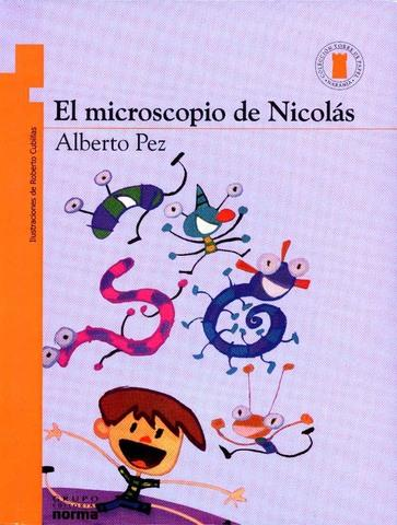 Early Reader Books in Spanish for kids - El microscopio de Nicolás