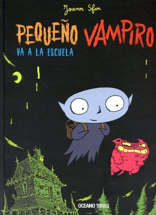 Books in Spanish for kids - Pequeño vampiro va a la escuela