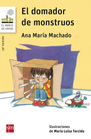 Early readers in Spanish for kids - El domador de monstruos