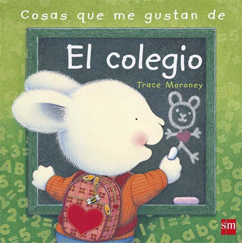 Picture books in Spanish for kids - Cosas que me gustan del colegio