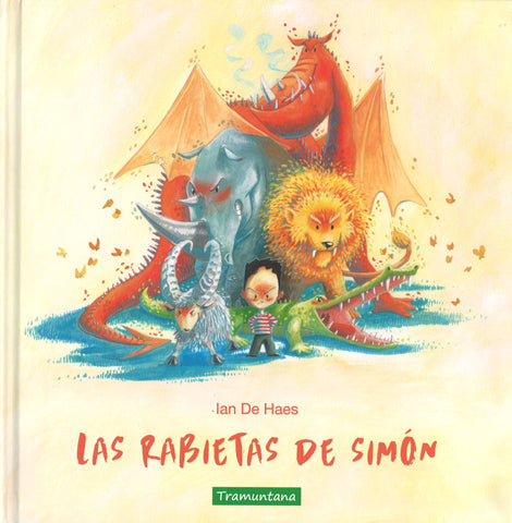 Picture Books in Spanish for kids - Las Rabietas de Simón