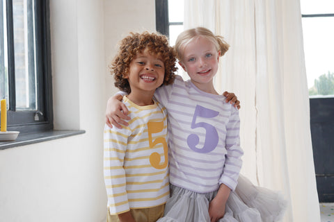 Girls + Boys Long Sleeved T Shirts