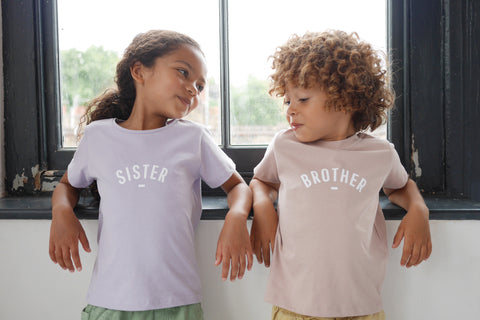 Girls + Boys Short Sleeved T Shirts