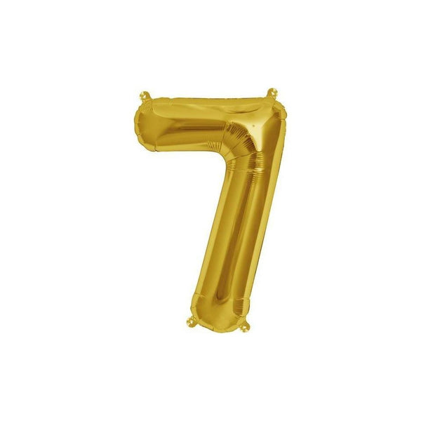 "16"" Foil Number 7 Balloon"