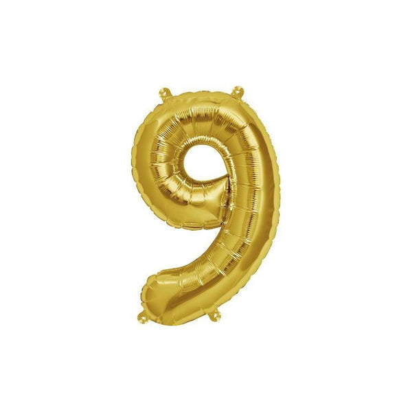 "16"" Foil Number 9 Balloon"