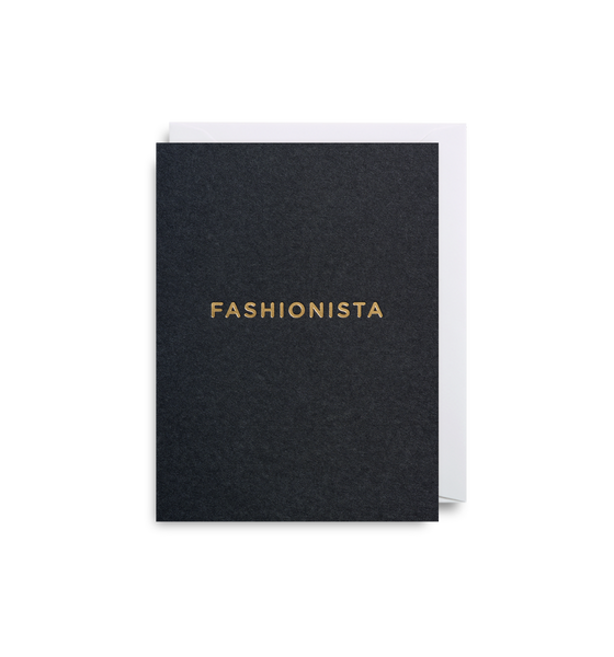 Fashionista Greeting Card