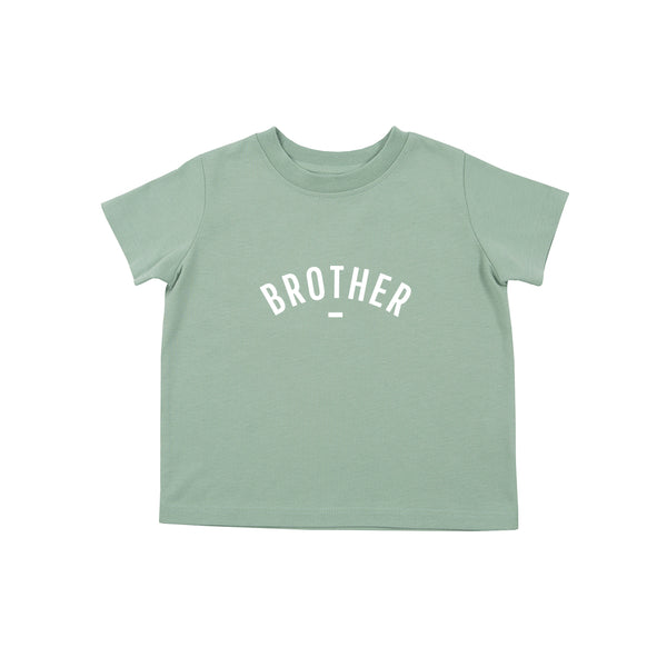Sage Short-Sleeved 'BROTHER' T-shirt