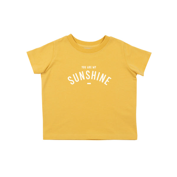 Custard Short-Sleeved 'YOU ARE MY SUNSHINE' T-shirt