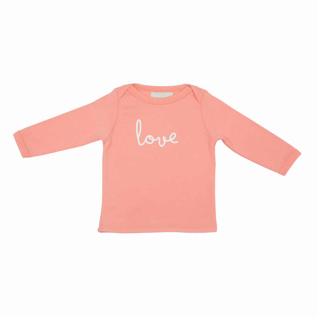 Blush Pink Love Baby T Shirt