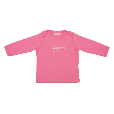 Bright Pink Gorgeous Baby T Shirt