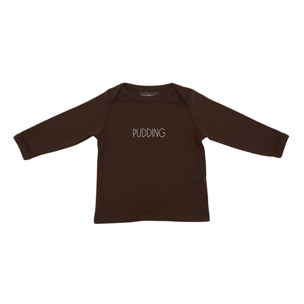 Brown Pudding Baby T Shirt