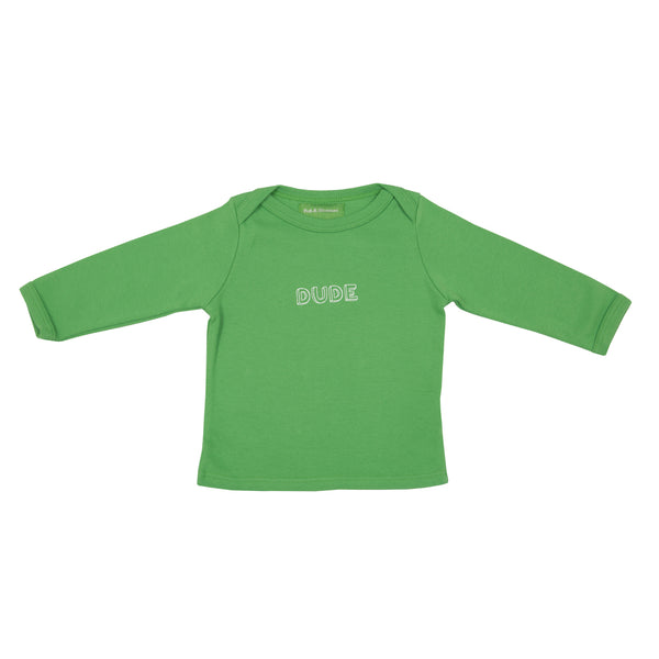 Grass Green Dude Baby T Shirt