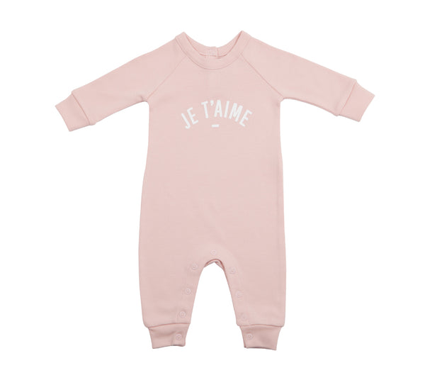 Blush Pink 'Je T'aime' All-in-One